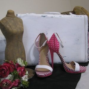 "5 1/2"" Polka Dot High Heels"